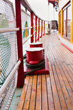 Deck of ship at sea Royalty Free Stock Photography
