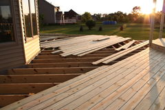 Deck Under Construction 10 Stock Photos
