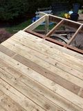 Deck under Construction Stock Images