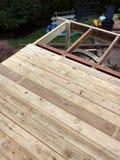 Deck under Construction Stock Images