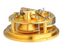 Deck watch chronometer mechanism Stock Photo