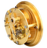 Deck watch chronometer mechanism Royalty Free Stock Photos