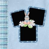 Deckblatt für Schätzchenalbum Stockbild
