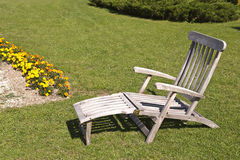 Deckchair Stock Photography