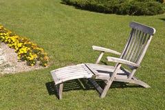 deckchair Fotografia Stock