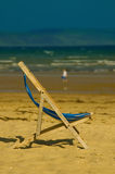 Deckchair Stock Photo