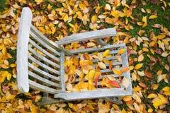 Deckchair royalty-vrije stock afbeelding