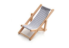 Deckchair Royalty-vrije Stock Foto