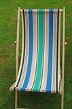 Deckchair inglés foto de archivo libre de regalías