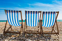 Deckchair Relaxation Stock Photography