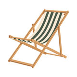 Deckchair Royalty Free Stock Photography