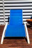 deckchairs stockfotografie