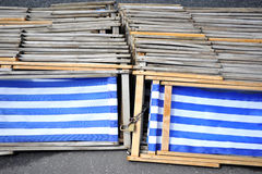 Deckchairs Royalty Free Stock Images