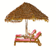 deckchairs Imagem de Stock Royalty Free