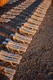 deckchairs Immagine Stock Libera da Diritti