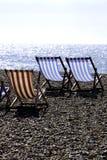 deckchairs Стоковая Фотография RF