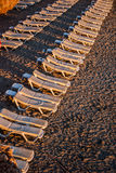 Deckchairs Royalty Free Stock Image