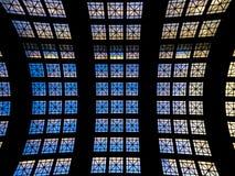 Decke/Dach gewölbt stockbild