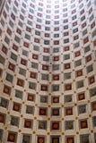 Decke in der Basilika von St Andrew in Mantua, Italien stockfotografie