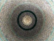 Decke der Haube der Kette von innen gesehen Stockfoto