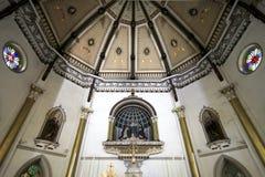 Decke der heiligen Rosenbeet-Kirche Lizenzfreie Stockfotografie