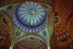 Decke der Moschee Stockfotos