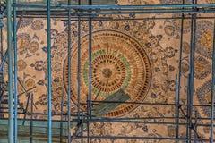 Decke der Moscheenerneuerung in Yazd Stockfotografie