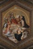 Decke im Vatican-Museum Lizenzfreies Stockbild