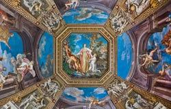 Decke im Vatican-Museum Lizenzfreie Stockbilder