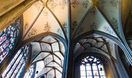 Decke von Aachen-Kathedrale Stockfotografie