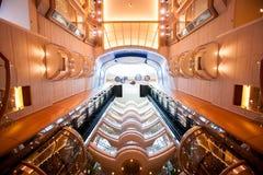Decke von Cruiseship Stockbilder