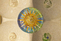 Decke von Hipostila Hall Stockfoto