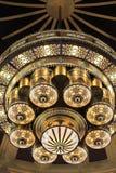 DECKEN-MOSCHEEN-LAMPE Stockbild