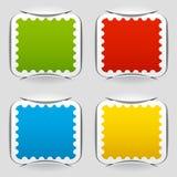 Decken Sie angebrachte Portopapiere ab Lizenzfreie Stockfotografie