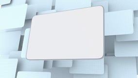 Decken Sie Anschlagtafel ab Lizenzfreie Stockbilder