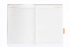 Decken Sie geöffnetes Buch ab Lizenzfreie Stockfotos