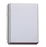 Decken Sie gezeichnetes Notizbuch ab Lizenzfreie Stockfotos