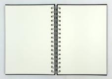 Decken Sie Notizbuch ab Lizenzfreies Stockbild