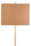 Decken Sie Protestzeichen ab Lizenzfreie Stockbilder