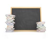 Decken Sie Tafel mit Buch ab Lizenzfreie Stockfotos