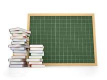 Decken Sie Tafel mit Buch ab Lizenzfreies Stockfoto