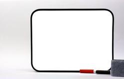 Decken Sie weißen Vorstand ab lizenzfreies stockbild