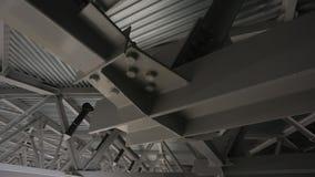Deckenbau stock video footage