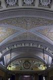 Deckendetail der Krypta unter der Duomo-Kathedrale Lizenzfreie Stockfotos