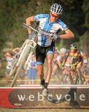 decker профессиональные США cyclocross Карла Стоковое Изображение RF