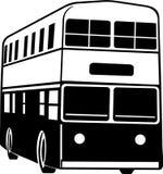 Decker Bus Illustration doble stock de ilustración