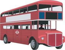 Decker Bus Vector Illustration doble stock de ilustración