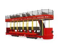 Decker Tram Isolated doble libre illustration