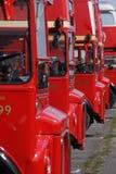 deckers podwajają czerwień zdjęcie royalty free