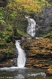 Deckertown Falls Autumn Stock Images